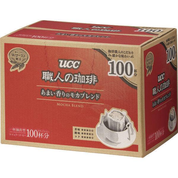■お徳用100袋入 UCC職人の珈琲ドリップコーヒー/あまい香りのモカブレンド/_画像1
