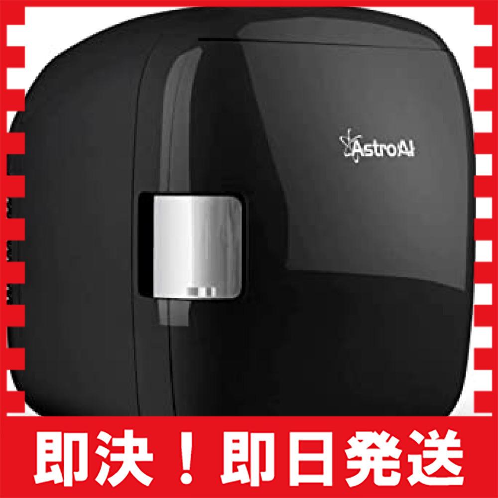 ブラック AstroAI 冷蔵庫 小型 ミニ冷蔵庫 小型冷蔵庫 車載冷蔵庫 冷温庫 9L 化粧品 小型でポータブル 家庭 車載_画像1