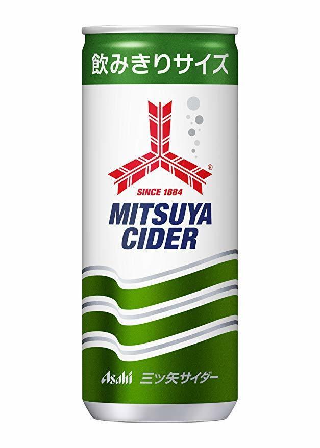 最安【即決・】アサヒ飲料 三ツ矢サイダー 缶 250ml×30本_画像2