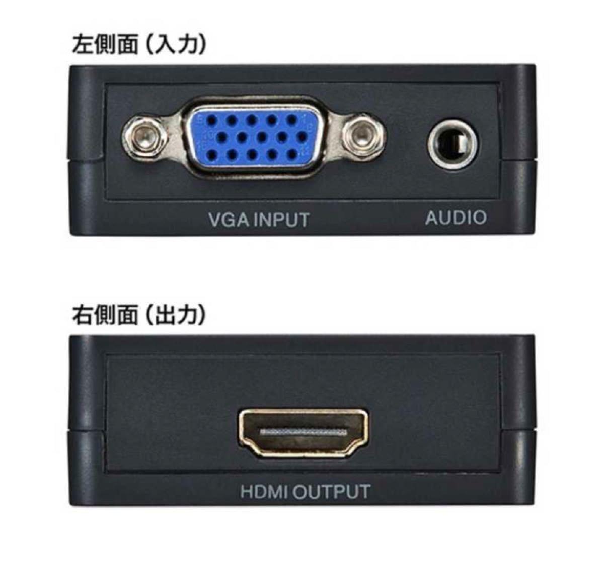 サンワサプライ 変換コンバーター 「VGA(ミニD−sub15pin・メス)⇒ HDMI A(メス)」 VGA‐CVHD2