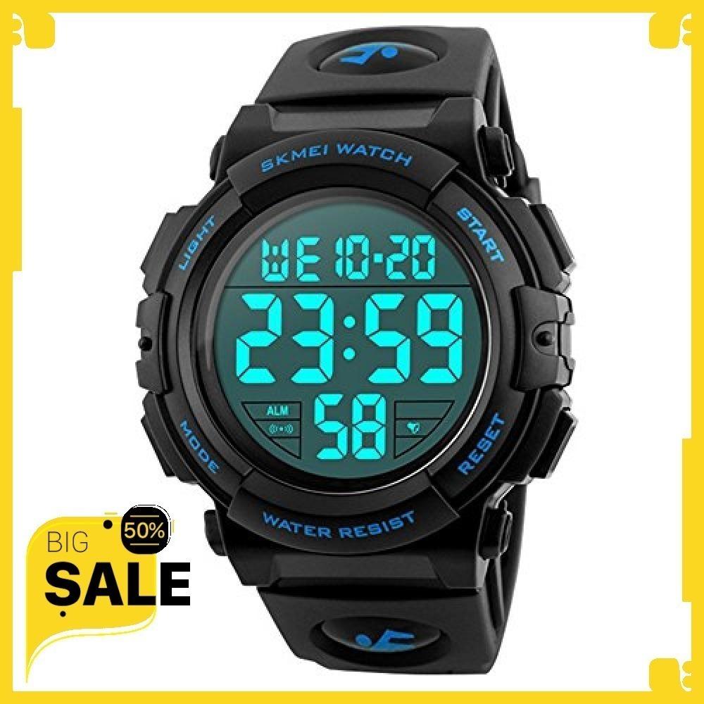 新品Timever(タイムエバー)デジタル腕時計 メンズ 防水腕時計 led watch スポーツウォッチ アラー4FO1_画像1