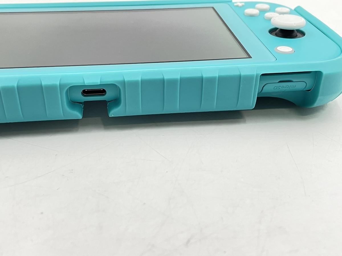 【中古】Nintendo Switch Lite ターコイズ HDH-S-BAZAA ニンテンドースイッチライト 本体のみ 動作品_画像4
