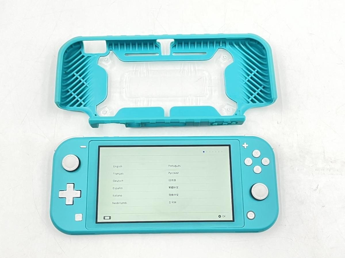 【中古】Nintendo Switch Lite ターコイズ HDH-S-BAZAA ニンテンドースイッチライト 本体のみ 動作品_画像5