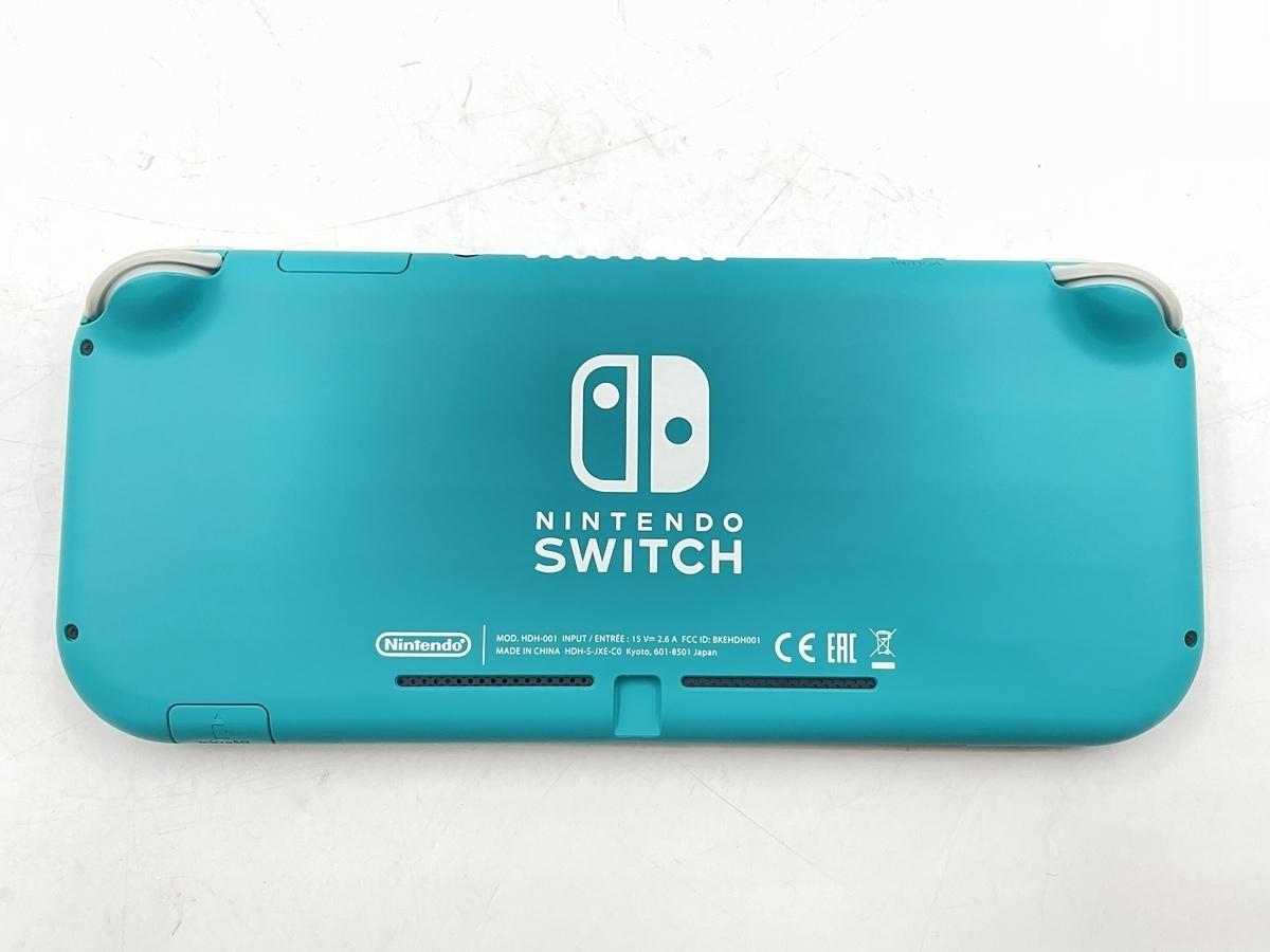 【中古】Nintendo Switch Lite ターコイズ HDH-S-BAZAA ニンテンドースイッチライト 本体のみ 動作品_画像2