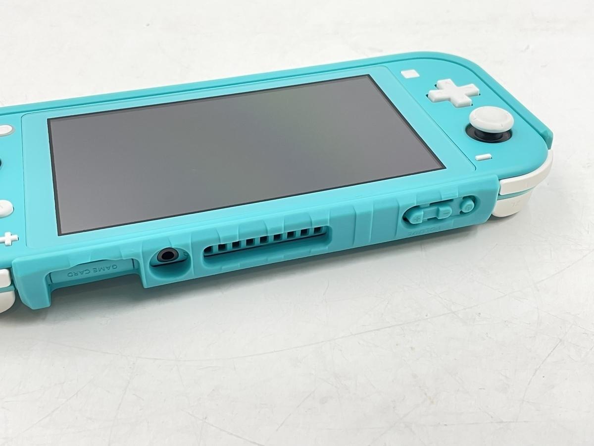 【中古】Nintendo Switch Lite ターコイズ HDH-S-BAZAA ニンテンドースイッチライト 本体のみ 動作品_画像3