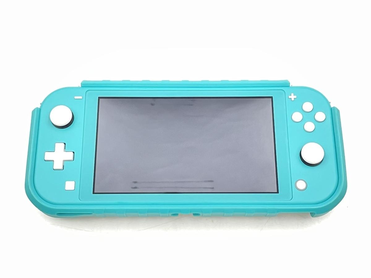 【中古】Nintendo Switch Lite ターコイズ HDH-S-BAZAA ニンテンドースイッチライト 本体のみ 動作品_画像1