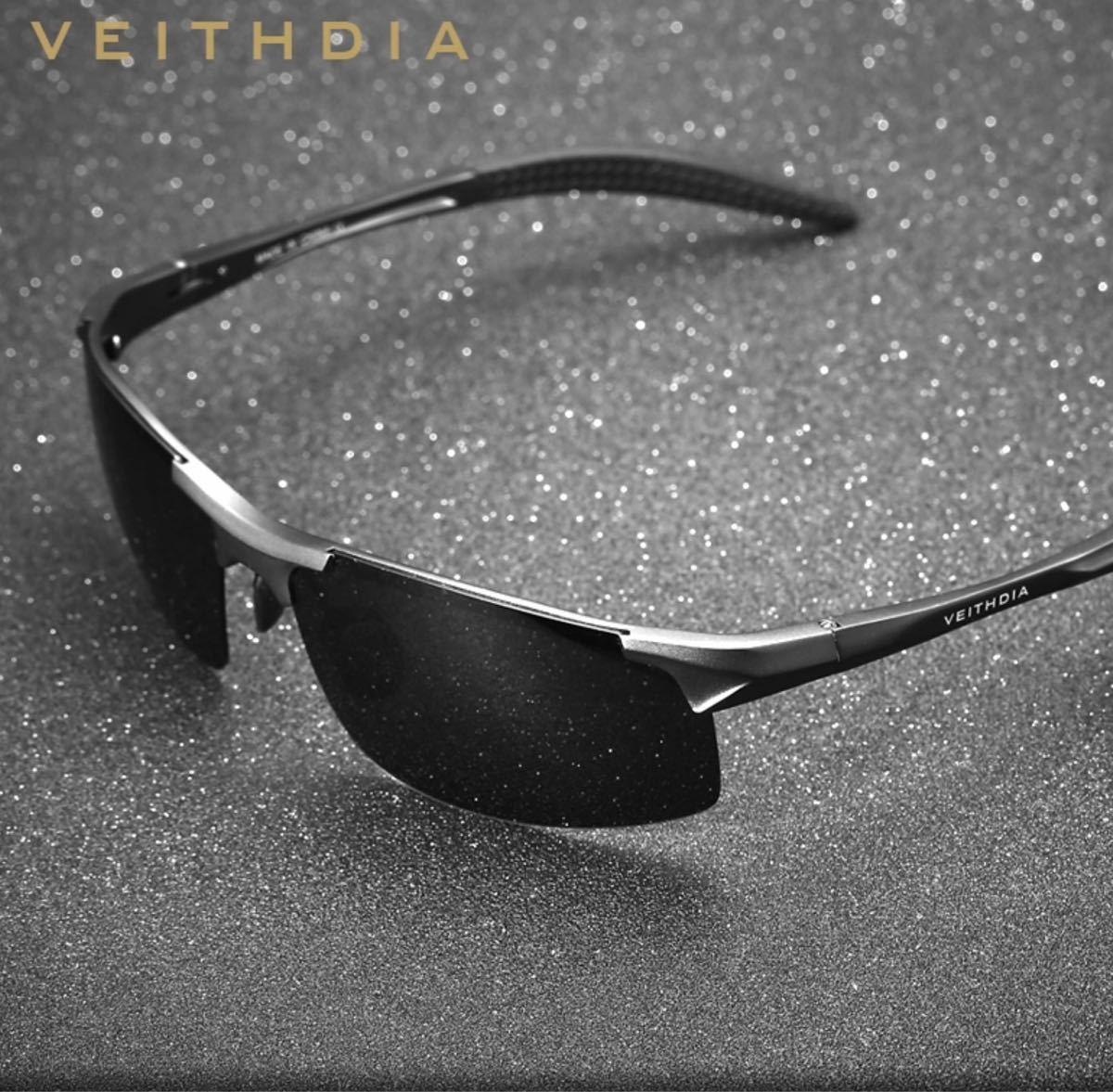 偏光サングラス スポーツサングラス VEITHDIA スポーツタイプ サングラス 偏光レンズ