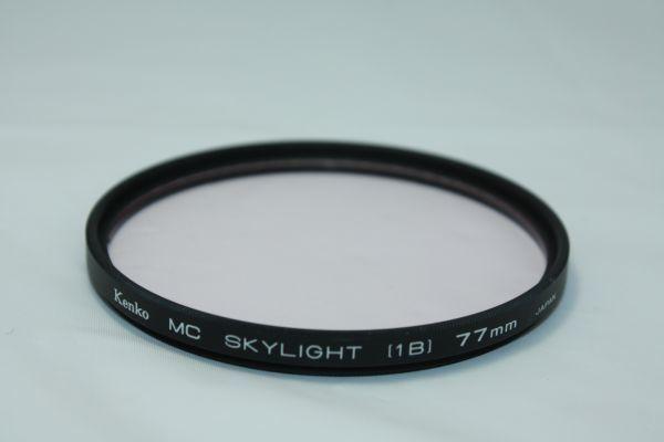 kenko mc skylight (1b) 77mm ケンコー/ 現状品 カメラ レンズ フィルター / イ003_画像2