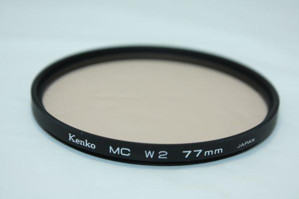 kenko mc w2 77mm ケンコー / 現状品 カメラ レンズ フィルター / イ005_画像2