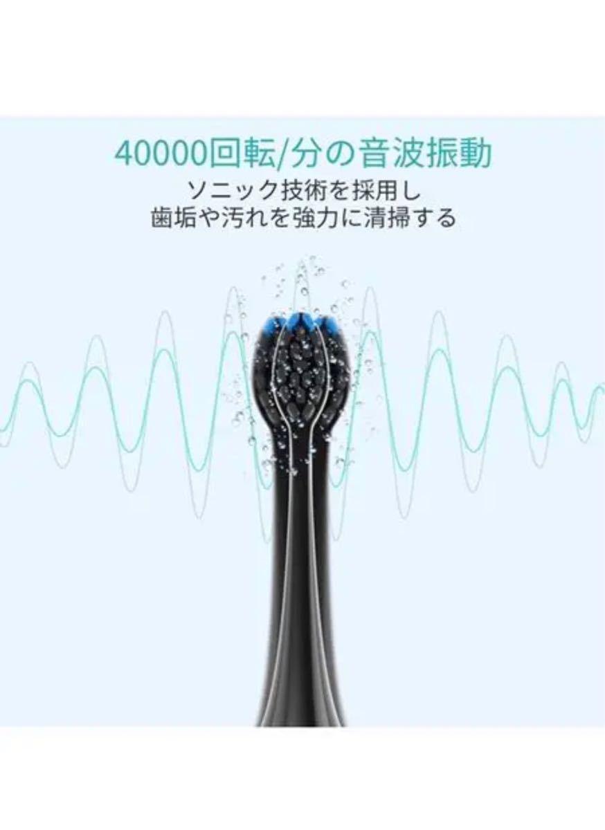 電動歯ブラシ 音波歯ブラシ 歯磨き 電池式 充電式