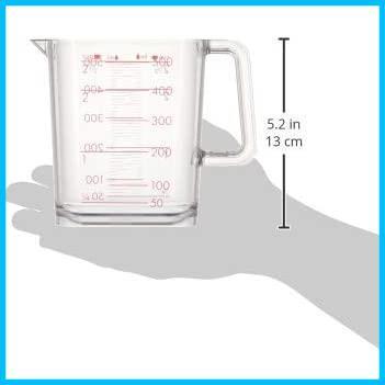 和平フレイズ 調理器具 計量カップ ジー・クック 500ml シルバーローズ 食洗器対応 日本製 GC-261_画像6