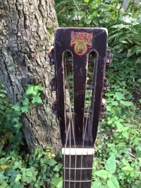 激レア!遂にプロ放出品!本物30年代USA製【オリジナル・ドブロ DOBROギター】激鳴りのリゾネーター!ブルース、カントリー、ハワイアンに抜群_画像3