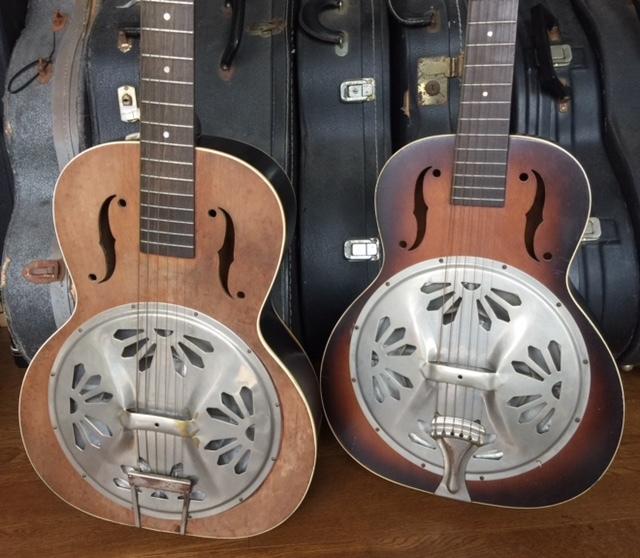 激レア!遂にプロ放出品!本物30年代USA製【オリジナル・ドブロ DOBROギター】激鳴りのリゾネーター!ブルース、カントリー、ハワイアンに抜群_画像10