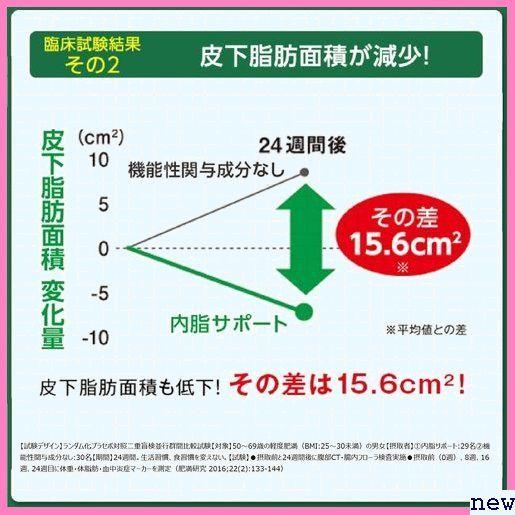 新品★fvgab ファンケル/ /サプリメント 機能性表示食品 /内脂サポート/約90日分/ FANCL 71_画像5