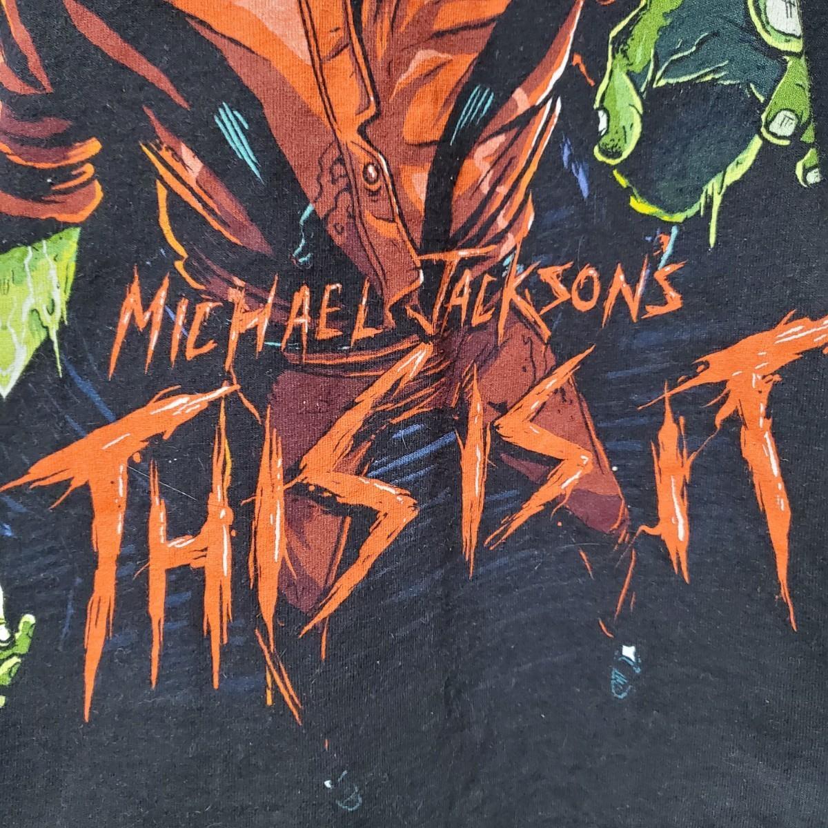 マイケルジャクソン Michael Jackson MJ マイケルグッズ スリラーTシャツ