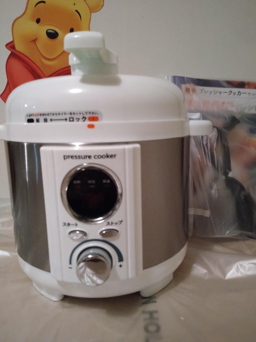 電気圧力鍋\(^o^)/美品 電気圧力鍋
