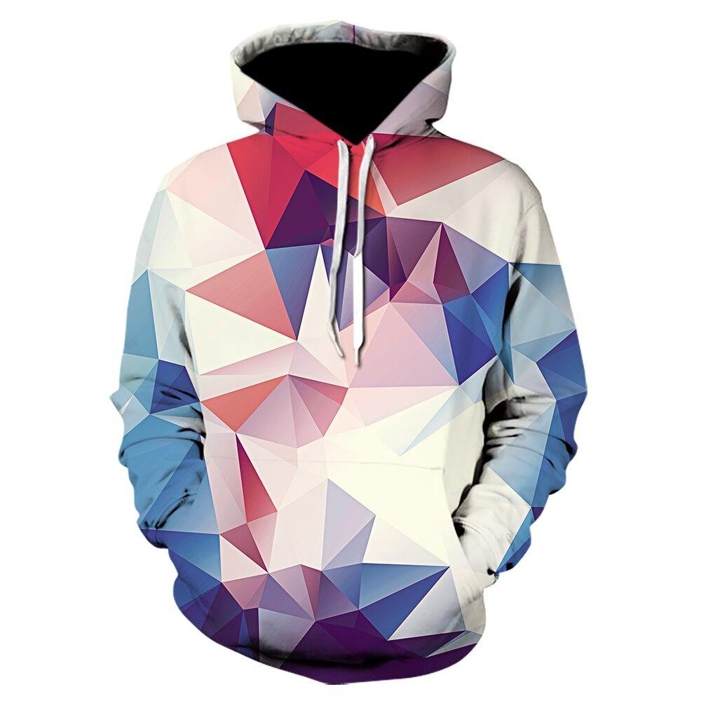 【Boys w/ Hoodies】ホワイト/ピンク/ブルー モザイク タイル パーカー M / パーカ フーディー フーディ ジャージ ステンドグラス _画像1