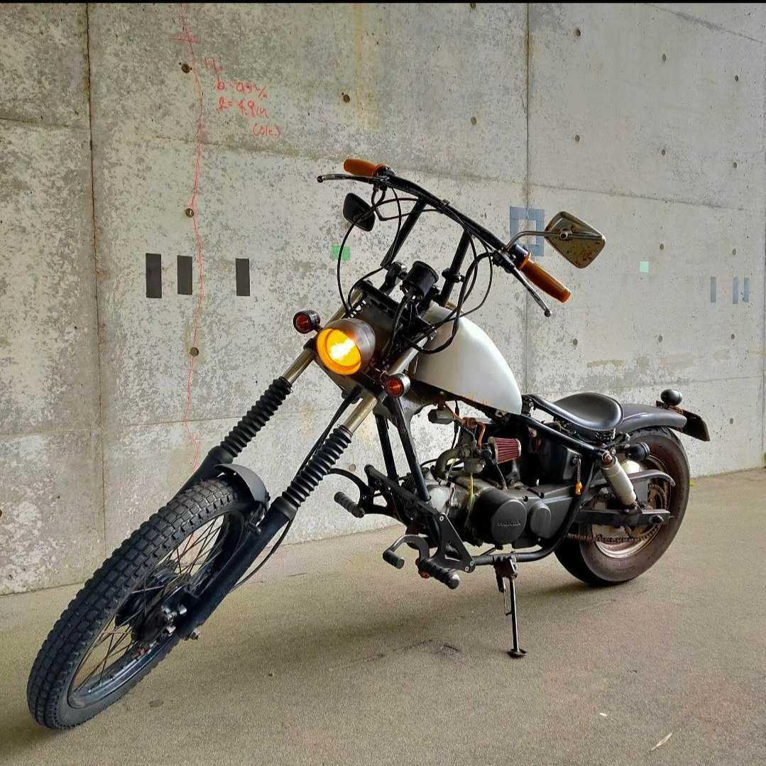 「ホンダ ジャズ フルカスタム 通勤快速 レアパーツ多数 50cc登録 HONDA JAZZ 新潟市から」の画像3