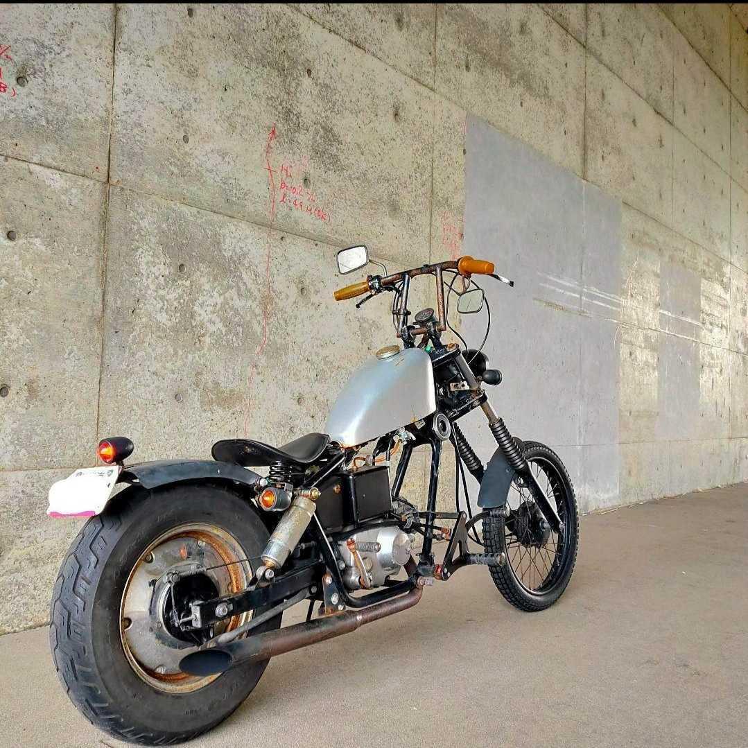 「ホンダ ジャズ フルカスタム 通勤快速 レアパーツ多数 50cc登録 HONDA JAZZ 新潟市から」の画像2