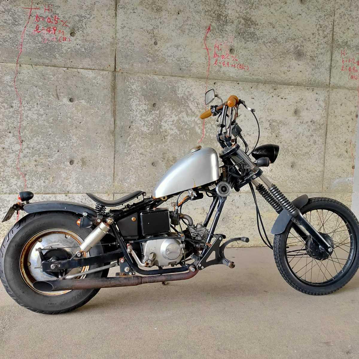 「ホンダ ジャズ フルカスタム 通勤快速 レアパーツ多数 50cc登録 HONDA JAZZ 新潟市から」の画像1