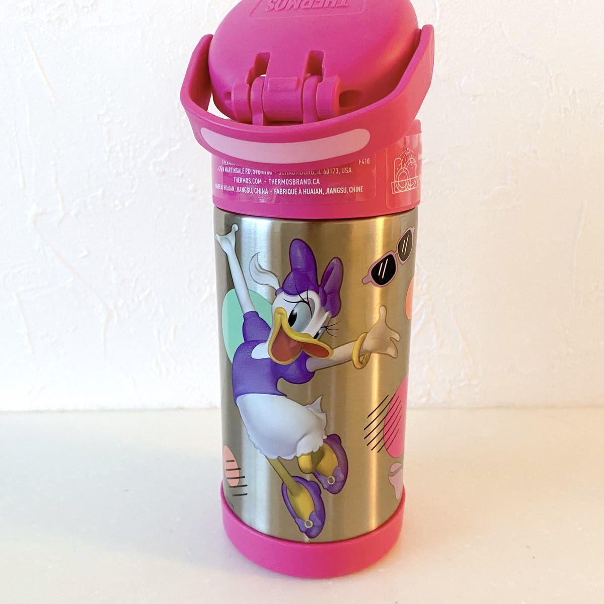 ミニー デイジー 水筒 サーモス 真空断熱 ストローマグ 真空 ディズニー 紫