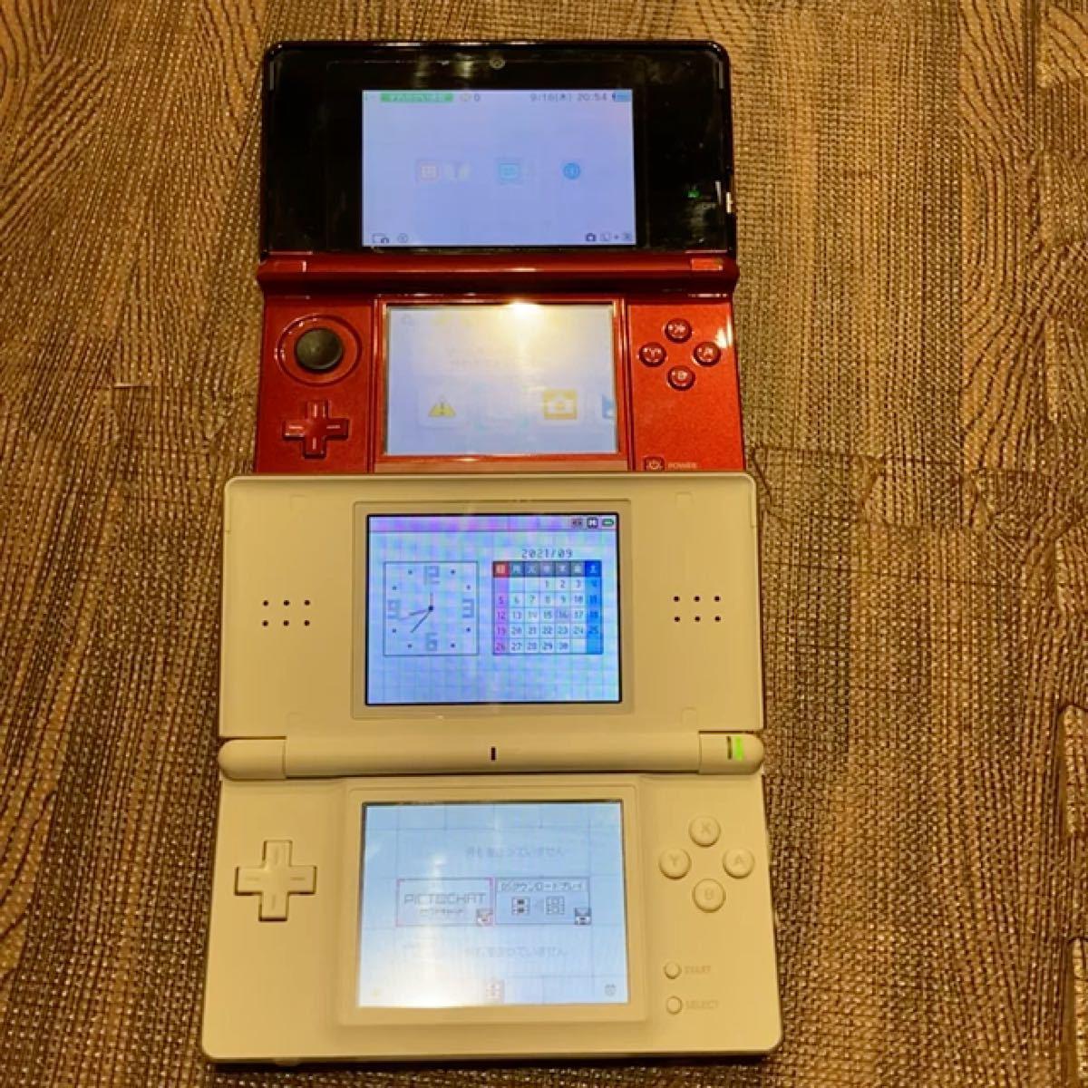 ニンテンドー3DS本体 3Dレッド ニンテンドー3DS ブラック 3DS本体
