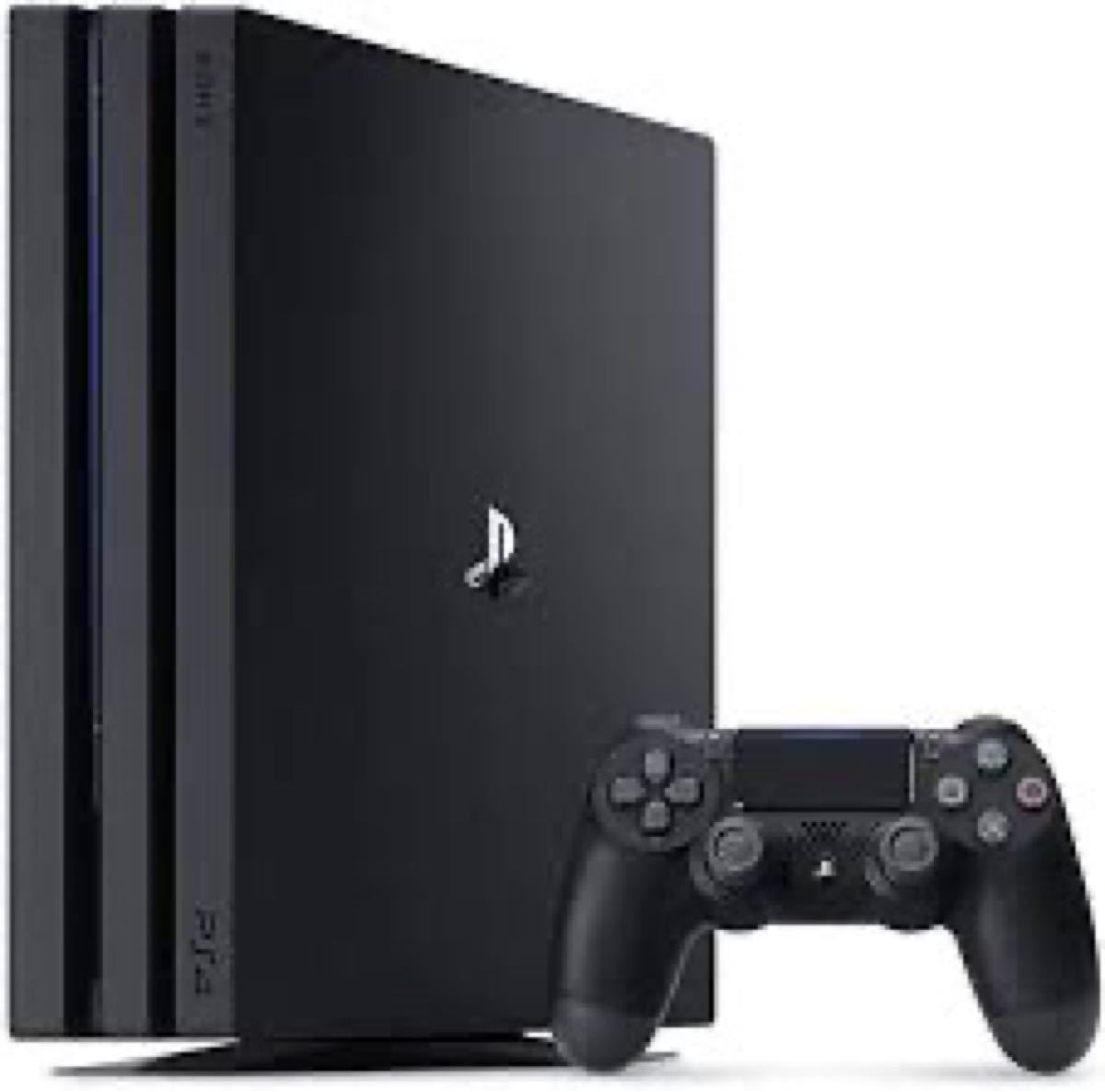 新品 ソニー・インタラクティブエンタテインメント PlayStation 4 Pro ジェット・ブラック 1TB PS4