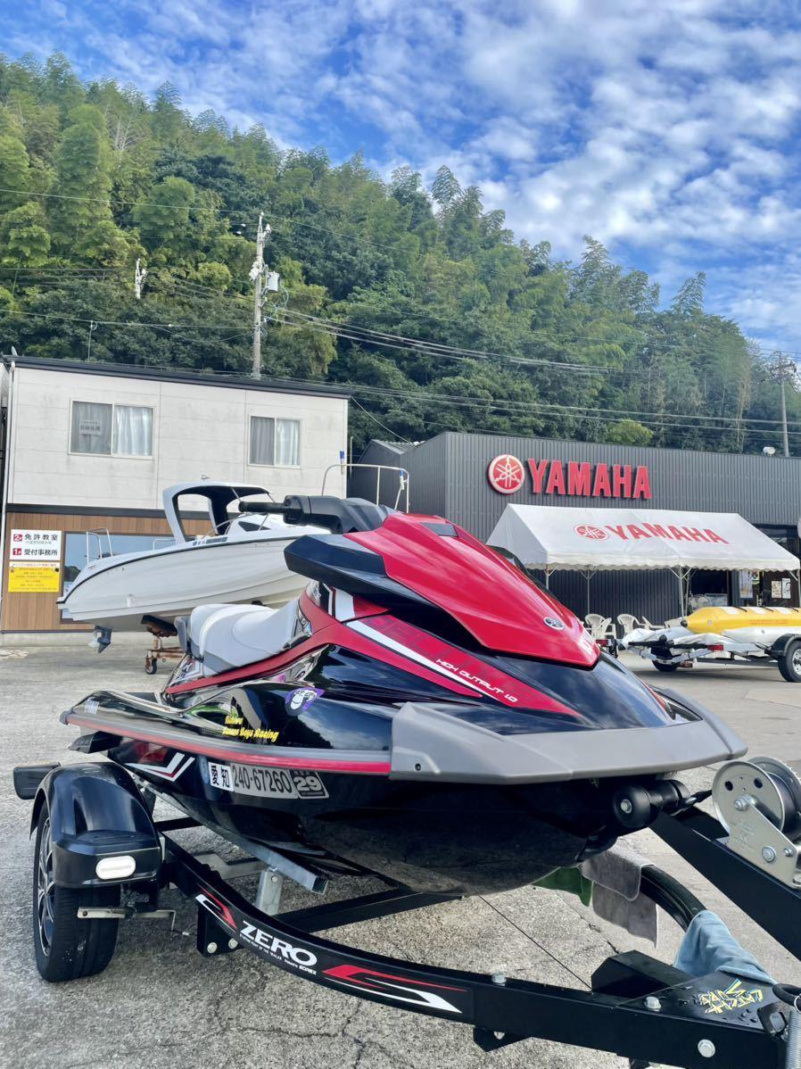 「YAMAHA ヤマハ 4スト マリンジェット 水上バイク ジェットスキー 船体のみ VX デラックス 低燃費」の画像1