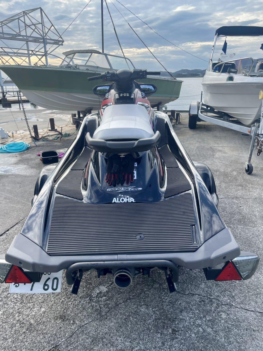 「YAMAHA ヤマハ 4スト マリンジェット 水上バイク ジェットスキー 船体のみ VX デラックス 低燃費」の画像3