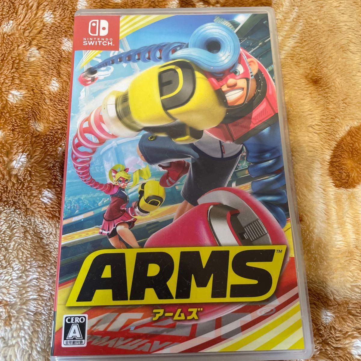 Switchソフト アームズ ARMS 任天堂 ニンテンドースイッチソフト