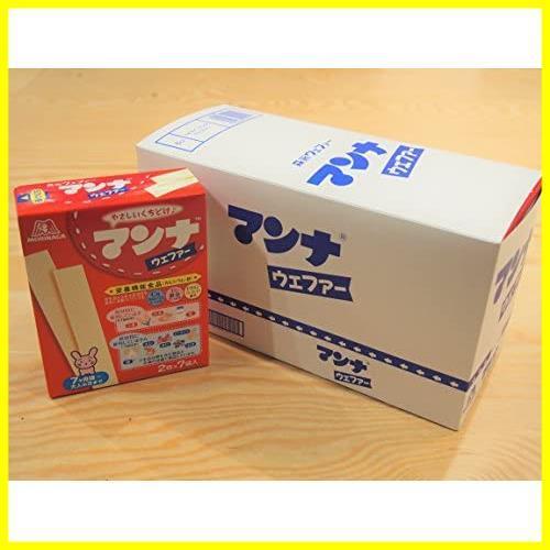 森永製菓 マンナウェファー 14枚(2枚×7袋)×6箱 【栄養機能食品(カルシウム・鉄)】_画像3