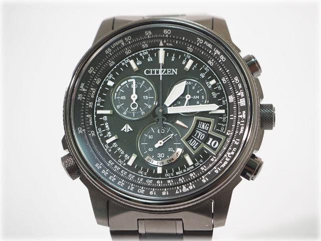 シチズン メンズ腕時計 PROMASTER SKY BY0084-56E(H610-T018688) 光発電エコドライブ電波時計 チタンバンド ブランド CITIZEN【安心取引】_その他の画像は商品説明に掲載しています。