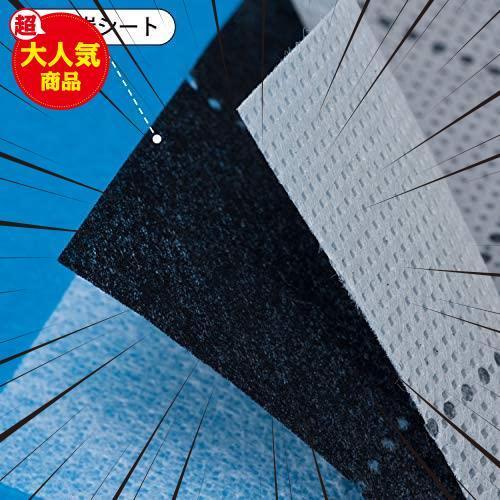 アストロ 収納ケース 羽毛布団用 薄型 グレー 不織布 活性炭 消臭 171-05_画像7
