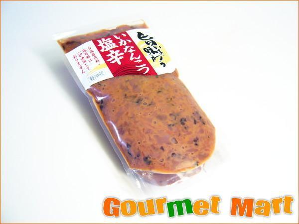 【北海道グルメマート】北海道限定品 合成着色料 保存料不使用 旨いを味わう いかなんこつ塩辛 300g_画像1