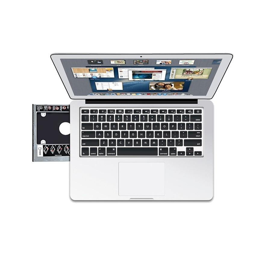 コム 9.5mm ノートPCドライブマウンタ セカンド 光学ドライブベイ用 SATA/HDDマウンタ CD/DVD CD ROM NPC_MOUNTA-9_画像5