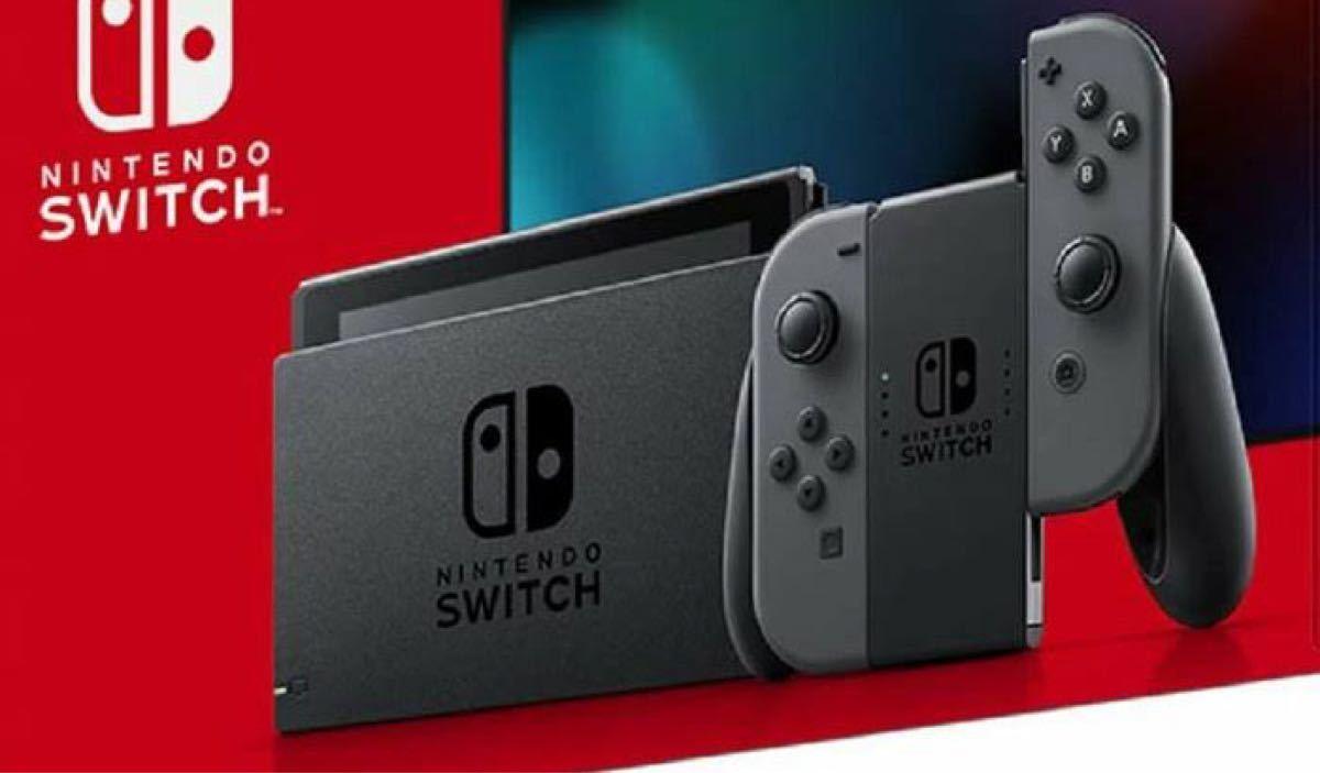 Nintendo Switch Joy-Con (L) Switch本体 ジョイコンと本体のみ グレー