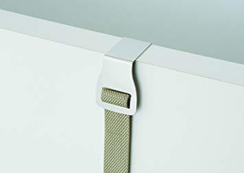 ホワイト W4×D4×~H240 ライクイット(like-it)壁掛け収納ドアフック 幅4x奥4x高~240cmホワイト日本製N_画像7