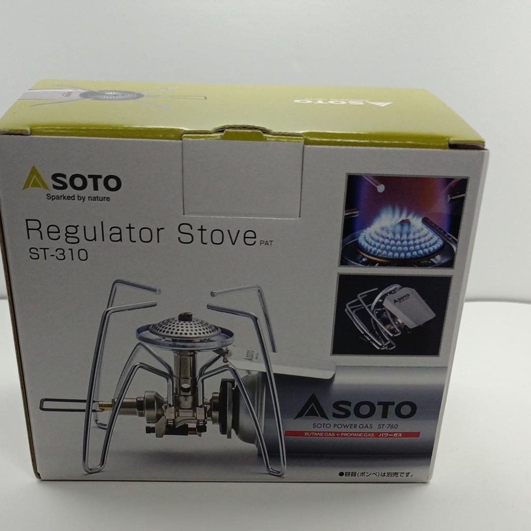 ①SOTO レギュレーターストーブ ST-310 新富士バーナー シングルバーナー