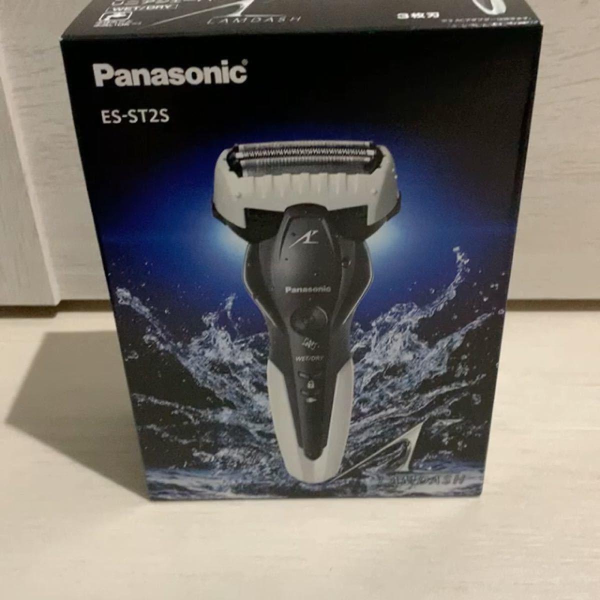 Panasonic パナソニック リニアシェーバー ラムダッシュ (3枚刃) ES-ST2S-W 新品未使用