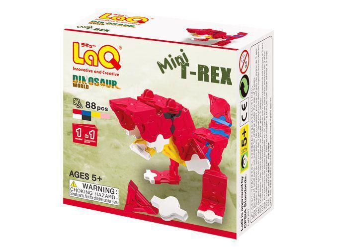 新品未開封◆ ラキュー (LaQ) ダイナソーワールド 3商品セット(ステゴザウルス他) _画像5