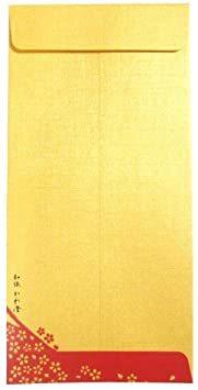 【Amazon.co.jp 限定】和紙かわ澄 金の金封 (お年玉富士山5枚)_画像4
