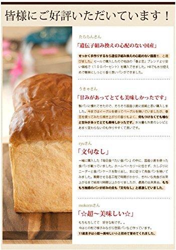 2.5kg x1袋 強力粉 mamapan 春よ恋100 北海道産パン用小麦粉 2.5kg_画像4