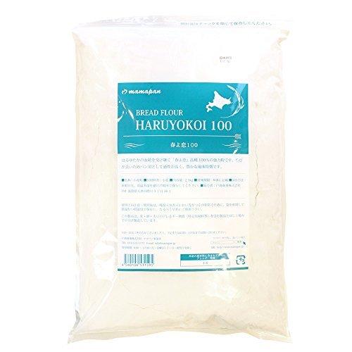 2.5kg x1袋 強力粉 mamapan 春よ恋100 北海道産パン用小麦粉 2.5kg_画像1