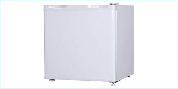 [DSE] 1円~ (展示未使用品) MAXZEN 小型 冷蔵庫 46L JR046ML01WH ホワイト 2021年製 右開き 一人暮らし_画像1