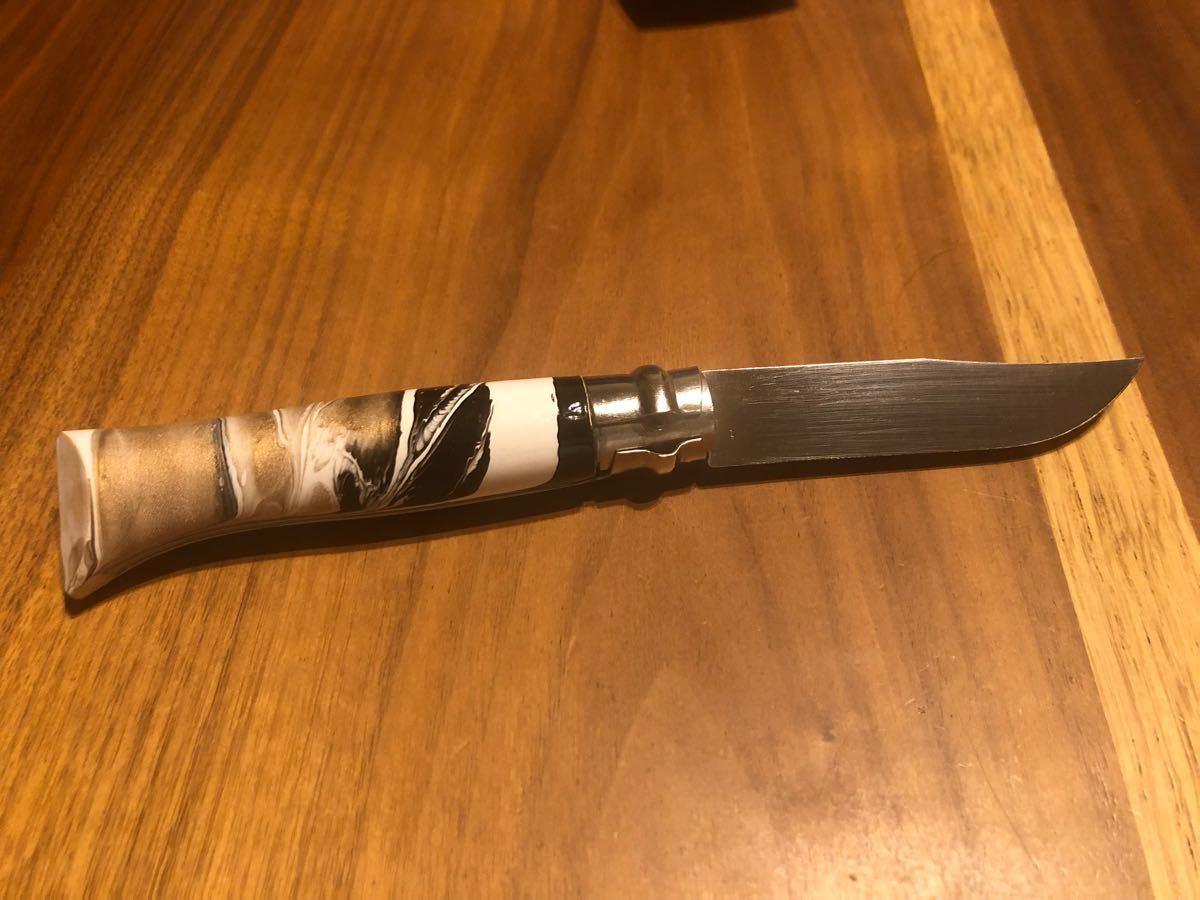 オピネル ステンレスフォールディングナイフ♯8