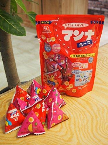 森永製菓 マンナボーロ 34g×5袋 【栄養機能食品(カルシウム・鉄)】_画像4