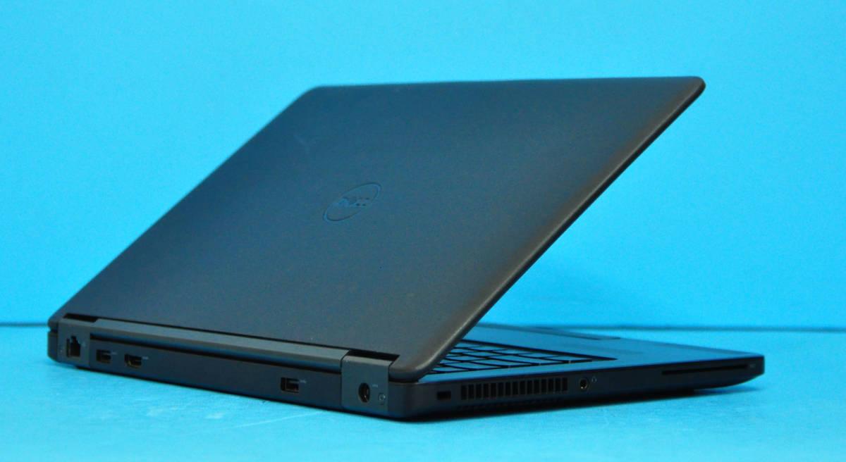 ♪ 良品 上位モデル Latitude E5270 ♪ Core i5 6200U / メモリ8GB / SSD:128GB / Wlan / Office2019 / Win10._画像6