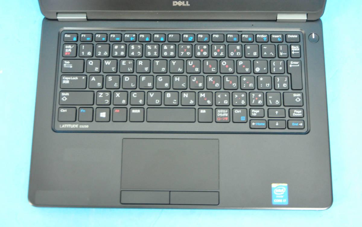 ♪ 良品 上位モデル Latitude E5270 ♪ Core i5 6200U / メモリ8GB / SSD:128GB / Wlan / Office2019 / Win10._画像2