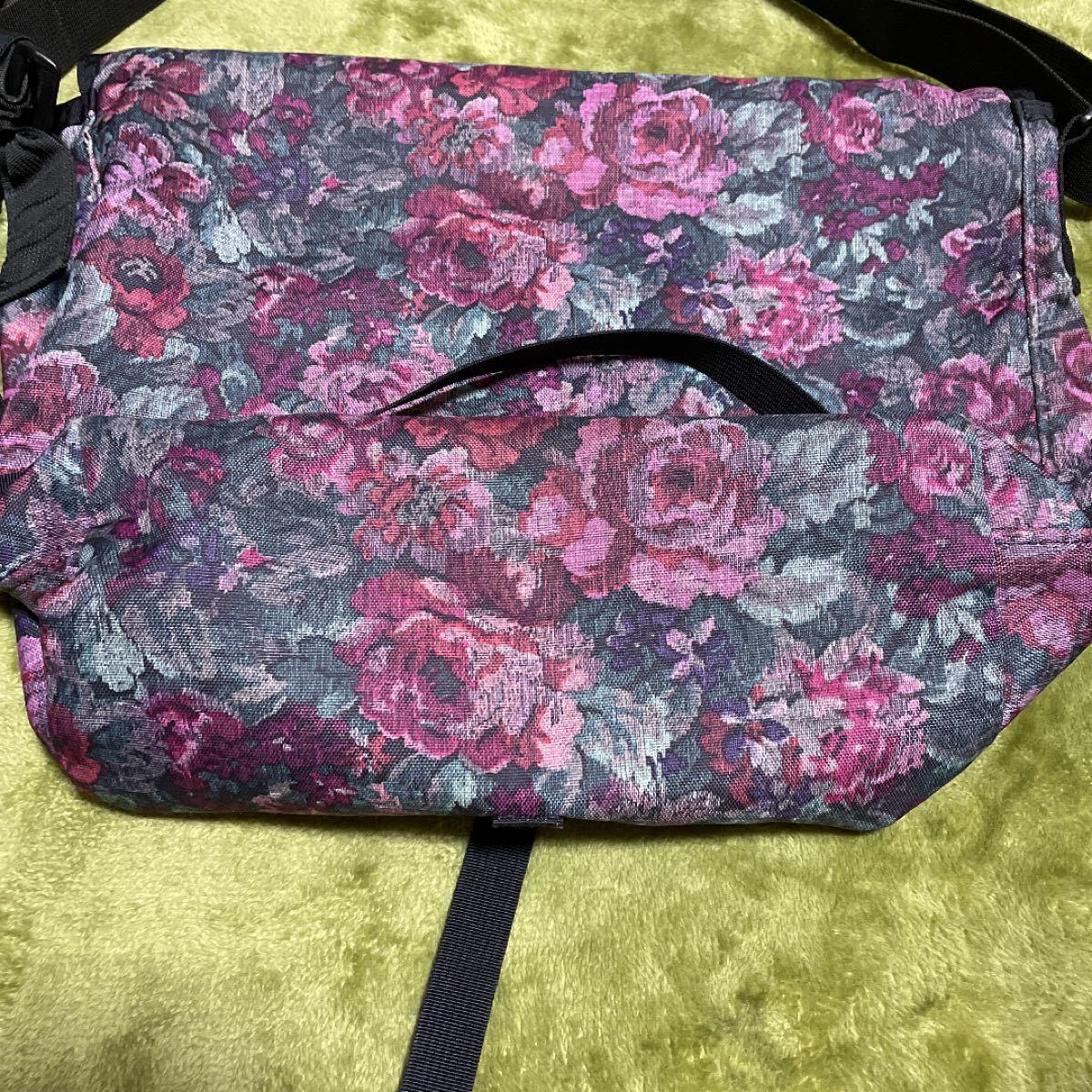 グレゴリー GREGORY 旧タグ USA製 花柄 グレゴリーショルダーバッグ
