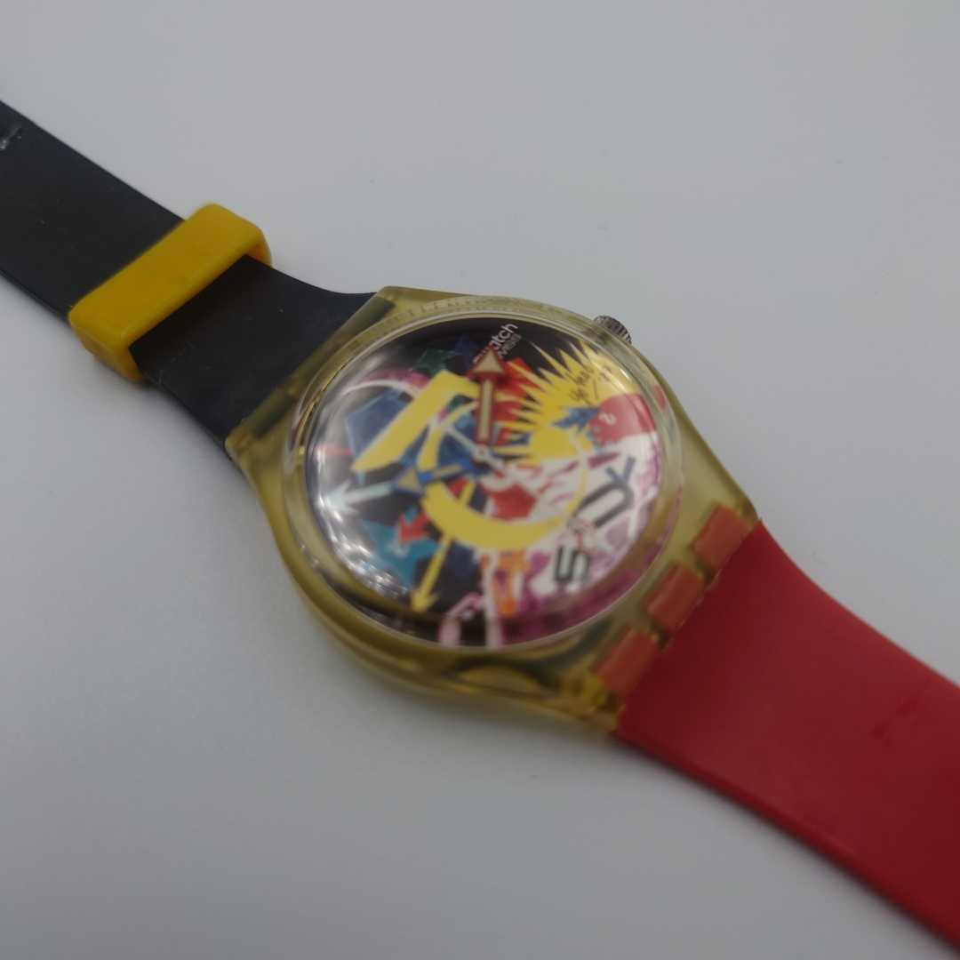 SWATCH スウォッチ 腕時計 限定品 横尾忠則デザイン アートスペシャル